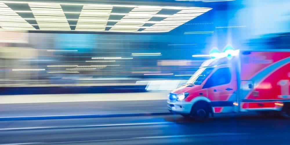 Ambulance stop motion